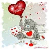 Grußkarten Zum Valentinstag Versenden