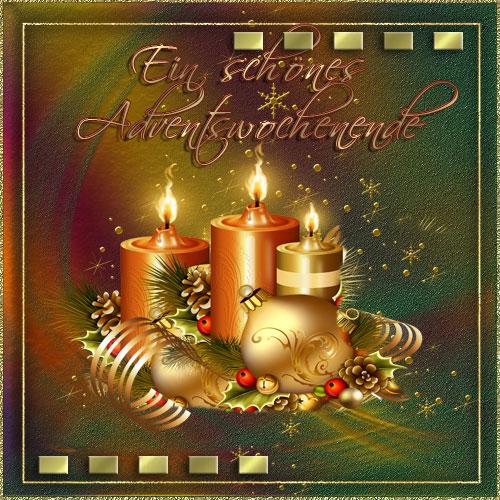Schönes adventswochenende